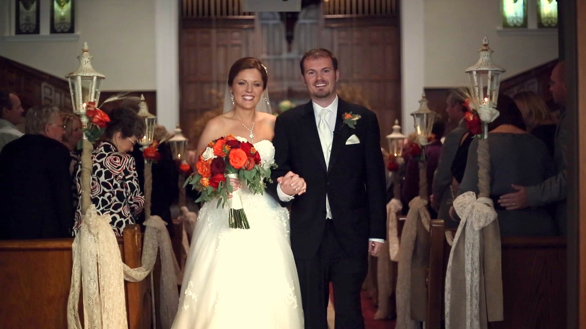 wedding video from third baptist church and the owensboro country club