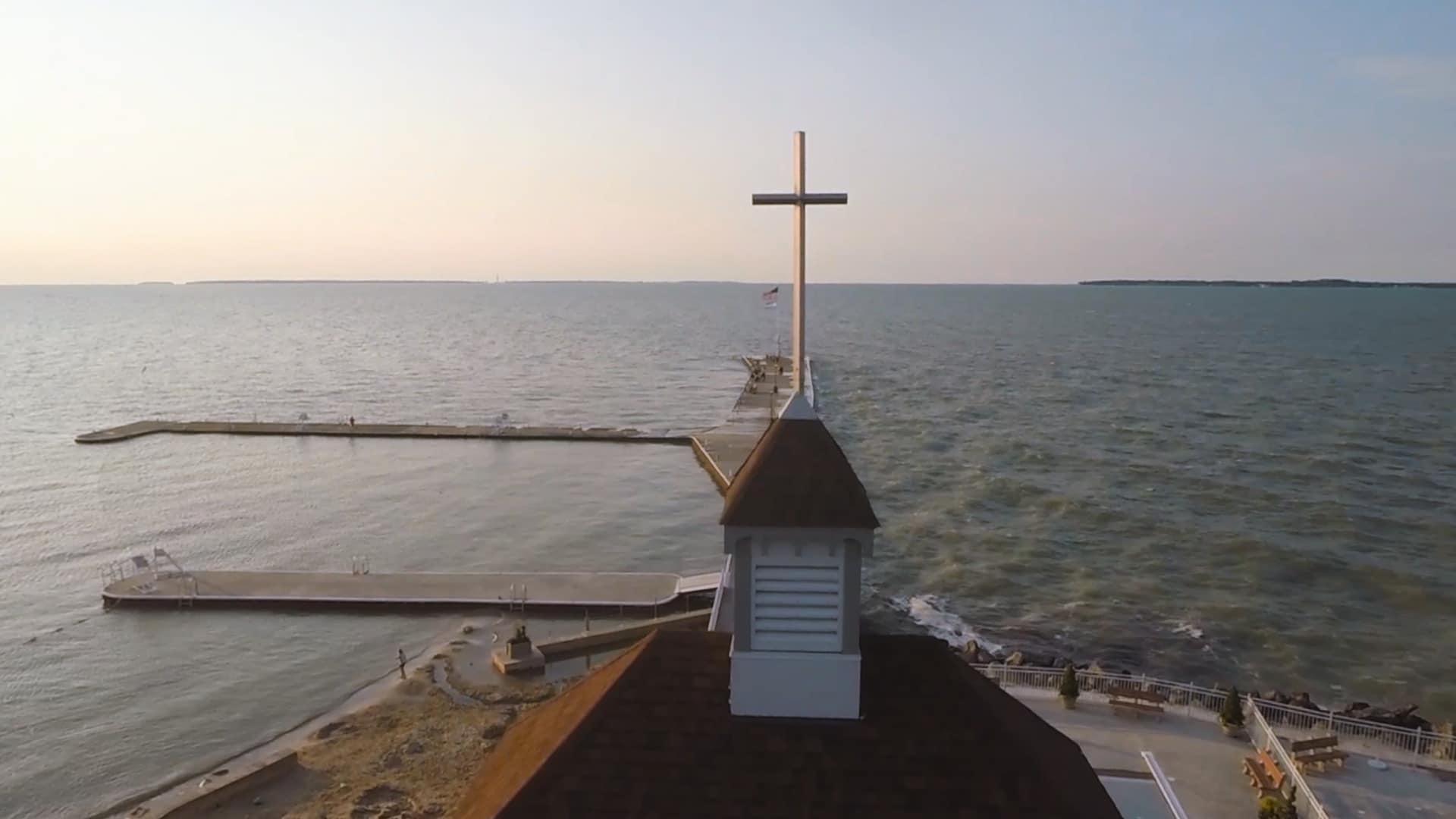 Lakeside cross