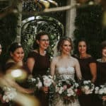 stacey with her bridesmaids
