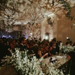vogue wedding reception